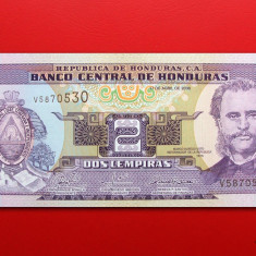 HONDURAS - 2 Lempiras 2008 - UNC - bancnota america
