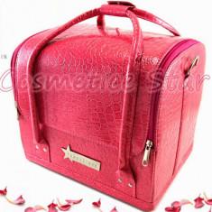 Geanta depozitare cosmetice Fraulein38 Germania culoarea Roz/Pink - Geanta cosmetice