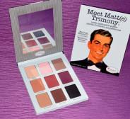 123123Trusa machiaj 9 culori theBalm cosmetics Meet Matt(e) Trimony paleta farduri