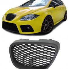 Grila fara semn Seat Leon / Altea 1P 2004-2009 RS-Look (model Fagure) - Grile Tuning Diederichs, LEON (1P1) - [2005 - 2012]