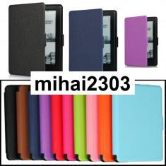 Husa Kindle 6 Glare | Generatia 8 | Noua| ULTRA-Slim |Magnet |+6245carti