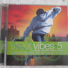 Various – Street Vibes 5 _ dublu CD, compilatie, UK - Muzica Pop warner