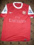 Tricoul Echipei de Fotbal Arsenal Londra , jucator Chamakh, masura M