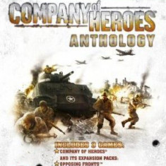 Company of Heroes Anthology - Joc PC Thq, Strategie, 16+, Multiplayer
