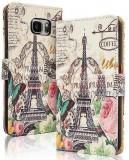 Toc FlipCover Fancy Sony Xperia Z3 Compact PARIS, Alt model telefon Sony, Piele Ecologica