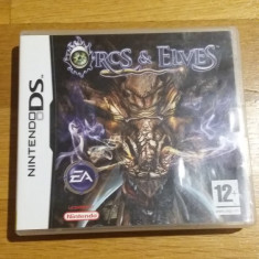 NINTENDO DS Orcs & Elves / Joc original by WADDER, Role playing, 12+, Single player, Electronic Arts