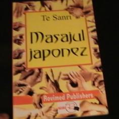 MASAJUL JAPONEZ-TE SANRI-219 PG- - Carte Recuperare medicala
