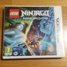 NINTENDO 3DS Ninjago Nindroids / Joc original by WADDER - Jocuri Nintendo 3DS, Actiune, 3+, Single player