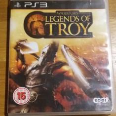 PS3 Warriors Legends of Troy - joc original by WADDER - Jocuri PS3 Altele, Actiune, 16+, Single player