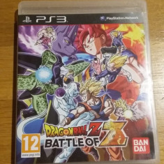 PS3 Dragon Ball Z Battle of Z - joc original by WADDER - Jocuri PS3 Namco Bandai Games, Actiune, 12+, Single player