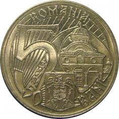 ROMANIA, 50 BANI 2011 * cod 3 - Moneda Romania, Alama