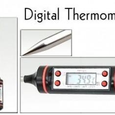 Termometru alimentar digital cu tija  de bucatarie