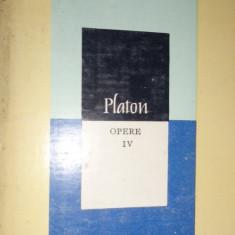 PLATON = OPERE VOL.4 PHAIDON. PHAIDROS (648PAGINI), Alta editura