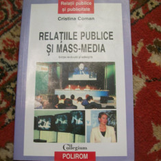 RELATIILE PUBLICE SI MASS- MEDIA CRISTINA COMAN - Carte de publicitate