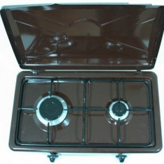 Plita aragaz Nurgaz portabila cu 2 ochiuri - Plita electrica