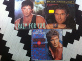 David Hasselhoff lot 3 singale disc vinyl muzica pop rock made in germany, VINIL