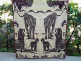 Regele Leu / patura lana 215 x 165 cm (2 fete)
