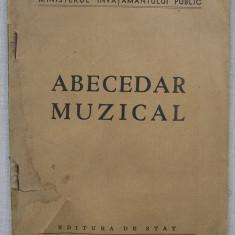 Abecedar Muzical (1949) - Carte veche