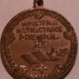 MEDALIA MINISTERUL INSTRUCTIUNII PREMIUL II - Medalii Romania
