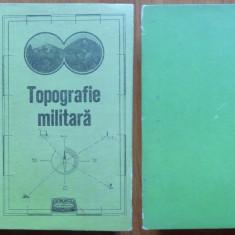 Topografie militara pt. maistri militari , subofiteri , gradati si soldati ,1975