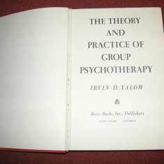 The theory and practice of group psychotherapy - Irvin D.Yalom