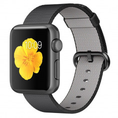 Smartwatch Apple Watch Sport 38mm Space Grey Aluminium Case with Black Woven Nylon