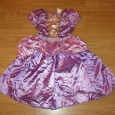 Costum carnaval serbare rapunzel pentru copii de 3-4 ani - Costum Halloween, Marime: Masura unica, Culoare: Din imagine
