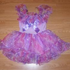 Costum carnaval serbare printesa zana floare pentru copii de 5-6 ani marime S - Costum Halloween, Marime: Masura unica, Culoare: Din imagine