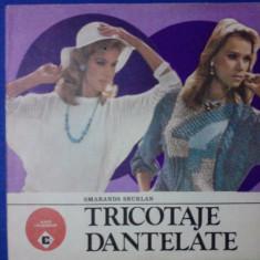 Tricotaje dantelate - Smaranda Sburlan / C24P - Carte design vestimentar