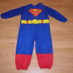 Costum carnaval serbare superman pentru copii de 2-3-4 ani - Costum Halloween, Marime: Masura unica, Culoare: Din imagine