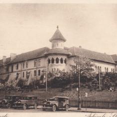 BUCURESTI, ARHIVELE STATULUI, AUTOMOBILE EPOCA - Carte Postala Muntenia dupa 1918, Necirculata, Printata