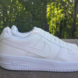 Nike Air Force 1 Alb complet unisex marimi de la 36 la 44 - Adidasi dama Nike, Marime: 37, 38, 39, 40, 41, 42, 43, Piele sintetica
