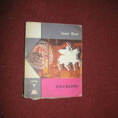 Ioan Dan - Cavalerii - Roman istoric