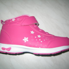 Pantofi sport fetite WINK;cod HV6371-2;marime:30-35 - Pantofi copii Wink, Culoare: Fuchsia, Marime: 31, 33, 34, Fete, Piele sintetica