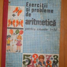EXERCITII SI PROBLEME DE ARITMETICA -I -IV - IOAN ARTIN - DE COLECTIE !