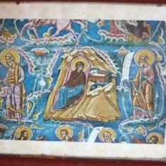 Icoana  veche  litografie Sf.  Grigore
