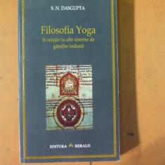 Filosofia Yoga in relatie cu alte sisteme de gandire indiana Bucuresti 2006 - Carti Hinduism