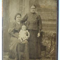 Fotografie veche pe carton, Victor Mysz - Sibiu