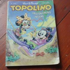 Revista Topolino limba Italiana - banda desenata Disney anul 1989 -192 pag !!! - Reviste benzi desenate