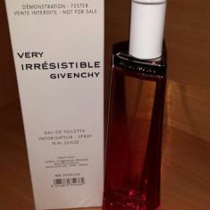PARFUM TESTER GIVENCHY VERY IRRESISTIBLE 75ML - Parfum femeie Givenchy, Apa de toaleta