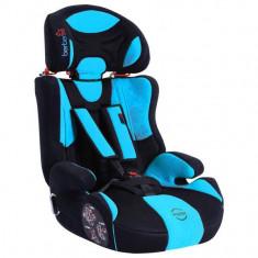 Scaun Auto Copii BERBER INFINITY Albastru 091, 1-2-3 (9-36 kg)
