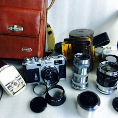 Vand NIKON ragefinder S3 editie limitata 2000 cu obiectiv si geanta - Aparat Foto cu Film Nikon