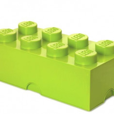 Cutie Depozitare Lego 2X4 Verde Deschis - LEGO Friends