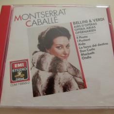 Montserrat Caballe - Bellini, Verdi - Muzica Opera emi records, CD