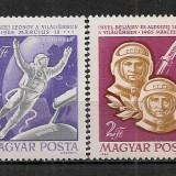 Ungaria.1965 Cosmonautica-Voschod 2 PC.57 - Timbre straine, Nestampilat