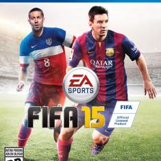 Vand Fifa 15 PS4 Ca NOU, Complet - Jocuri PS4, Sporturi, 3+