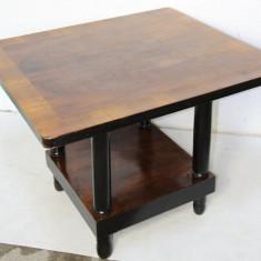 Masa Vintage din lemn masiv; Masuta 90X80 cm; Masa cafea, Mese si seturi de masa, Art Deco, 1900 - 1949