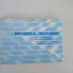 Manual de reparatie Honda XL 250R