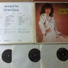 ANGELA SIMILEA 3 discuri 3 lp disc vinyl box set muzica usoara pop slagare 1986 - Muzica Pop electrecord, VINIL