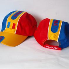 Sapca ROMANIA tricolor - steag sepci reglabile stema caciula fes chipiu RO12 - Fes Barbati, Marime: Marime universala, Culoare: Din imagine